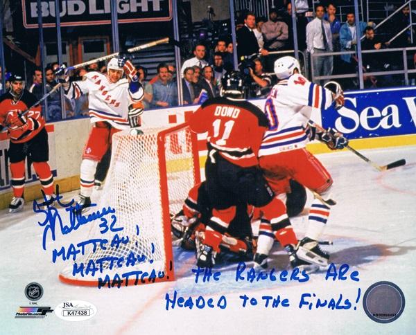 StephaneMatteau Autograph Sports Memorabilia from Sports Memorabilia On Main Street, sportsonmainstreet.com