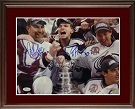 Patrick Roy and Ray Bourque Autograph Sports Memorabilia, Click Image for more info!