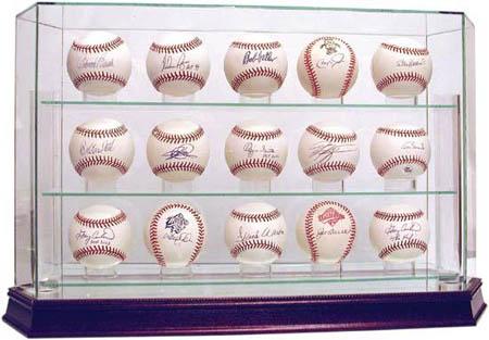 Official 15Baseball Case Autograph Sports Memorabilia from Sports Memorabilia On Main Street, sportsonmainstreet.com