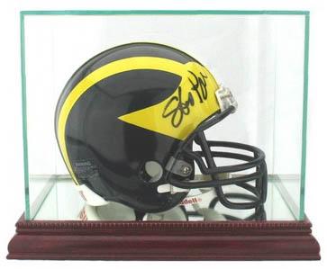 MiniFootball Helmet Autograph Sports Memorabilia from Sports Memorabilia On Main Street, sportsonmainstreet.com
