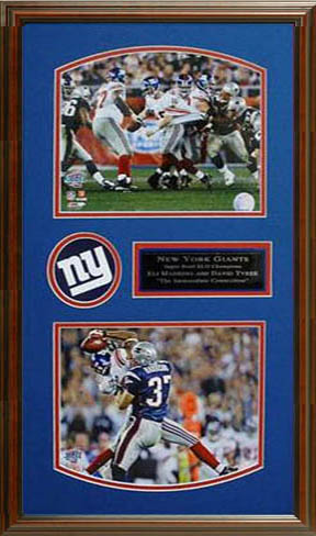Eli Manning and David Tyree Autograph Sports Memorabilia from Sports Memorabilia On Main Street, sportsonmainstreet.com