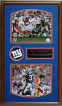 Eli Manning and David Tyree Autograph Sports Memorabilia, Click Image for more info!