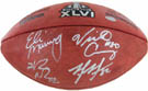 Eli Manning, Victor Cruz, Hakeem Nicks, and Mario Manningham Autograph Sports Memorabilia, Click Image for more info!