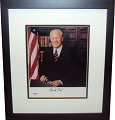 President Gerald Ford Autograph Sports Memorabilia On Main Street, Click Image for More Info!