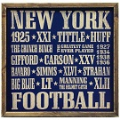 New york Giants Autograph Sports Memorabilia On Main Street, Click Image for More Info!