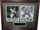 Mark Sanchez and Joe Namath Autograph Sports Memorabilia, Click Image for more info!