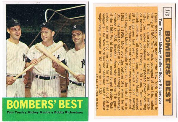 MickeyMantle, Tom Tresh, and Bobby Richardson Autograph Sports Memorabilia from Sports Memorabilia On Main Street, sportsonmainstreet.com