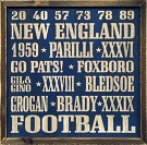 New England Patriots Autograph Sports Memorabilia On Main Street, Click Image for More Info!
