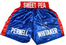 Pernell Whitaker Autograph Sports Memorabilia, Click Image for more info!