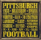 Piitsburgh Steelers Autograph Sports Memorabilia On Main Street, Click Image for More Info!