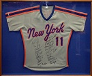 1986 New York Mets World Series Champion Team Autograph Sports Memorabilia, Click Image for more info!