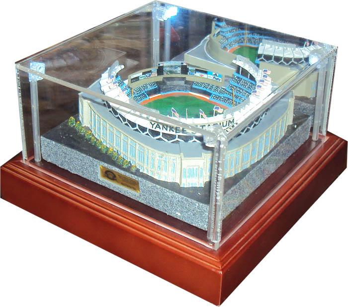 Stadium Lights Ebay: Replica Stadium Gold Level Display Case Sport Collectors