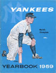 1959 New York Yankees Autograph Sports Memorabilia, Click Image for more info!