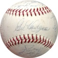 1970 New York Mets w/ Gil Hodges Autograph Sports Memorabilia, Click Image for more info!
