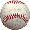 1971 New York Mets w/ Gil Hodges Autograph Sports Memorabilia, Click Image for more info!