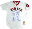 1975 Boston Red Sox Autograph Sports Memorabilia, Click Image for more info!