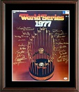 1977 New York Yankees World Series Champions Autograph Sports Memorabilia, Click Image for more info!