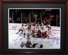 1980 USA Olympic Hockey Team Autograph Sports Memorabilia, Click Image for more info!