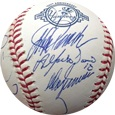 2003 New York Yankees W/ Derek Jeter, Hideki Matsui, Jorge Posada & 9 More Autograph Sports Memorabilia, Click Image for more info!