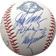 2003 New York YankeesW/ Derek Jeter, Hideki Matsui, Jorge Posada & 9 More Autograph Sports Memorabilia, Click Image for more info!