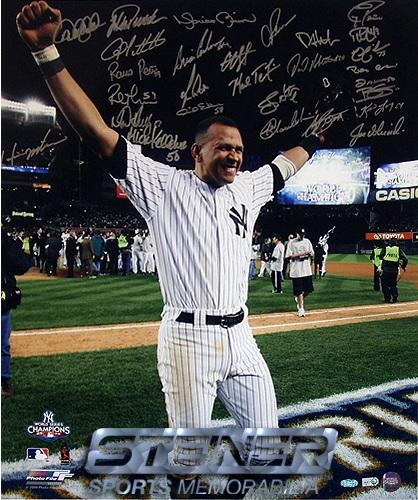 2009 New YorkYankees Autograph Sports Memorabilia from Sports Memorabilia On Main Street, sportsonmainstreet.com