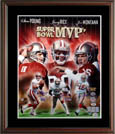 Joe Montana, Steve Young, and Jerry Rice Autograph Sports Memorabilia, Click Image for more info!