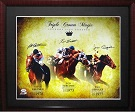 Secretariat, Affirmed, Seattle Slew Ron Turcotte, Steve Cauthen & Jean Cruguet Autograph Sports Memorabilia, Click Image for more info!