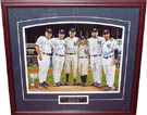 Don Larsen, Yogi Berra, David Cone, Joe Girardi, David Wells, and Jorge Posada Perfect Game Autograph Sports Memorabilia, Click Image for more info!