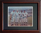 Mickey Mantle, Joe Dimaggio, Duke Snider, and Willie Mays Autograph Sports Memorabilia, Click Image for more info!