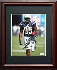 Antonio Gates Autograph Sports Memorabilia, Click Image for more info!