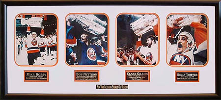 New York Islanders Dynasty Autograph Sports Memorabilia from Sports Memorabilia On Main Street, sportsonmainstreet.com