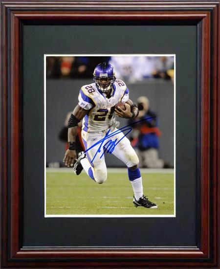 AdrianPeterson Autograph Sports Memorabilia from Sports Memorabilia On Main Street, sportsonmainstreet.com