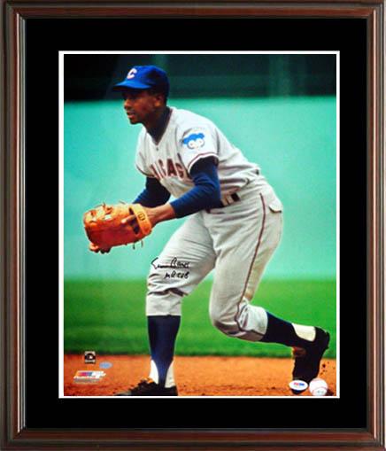 ErnieBanks Autograph Sports Memorabilia from Sports Memorabilia On Main Street, sportsonmainstreet.com