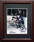Rod Gilbert and Andy Bathgate Autograph Sports Memorabilia, Click Image for more info!
