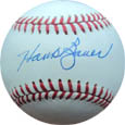 Hank Bauer Autograph Sports Memorabilia, Click Image for more info!