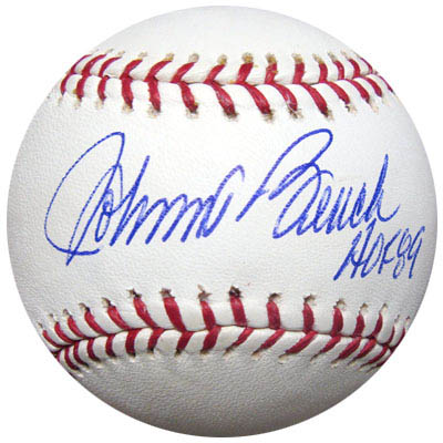 Johnny Bench Autograph Sports Memorabilia from Sports Memorabilia On Main Street, sportsonmainstreet.com