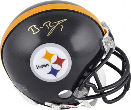 Ben Roethlisberger Autograph Sports Memorabilia from Sports Memorabilia On Main Street, sportsonmainstreet.com