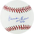Bernie Williams Autograph Sports Memorabilia, Click Image for more info!