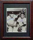 Bill Dickey and Yogi Berra Autograph Sports Memorabilia, Click Image for more info!