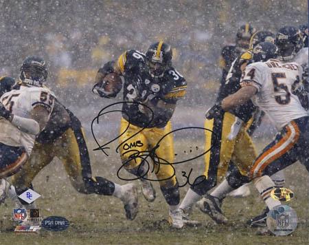 JeromeBettis Autograph Sports Memorabilia from Sports Memorabilia On Main Street, sportsonmainstreet.com