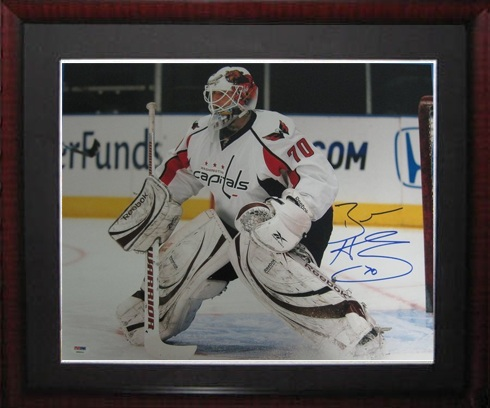 more photos e3649 7f138 Braden Holtby Autographed Sports Memorabilia from Sports ...