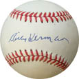 Billy Herman Autograph Sports Memorabilia, Click Image for more info!