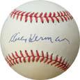 BillyHerman Autograph Sports Memorabilia, Click Image for more info!