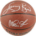 Larry Bird and Magic Johnson Autograph Sports Memorabilia, Click Image for more info!