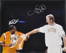Magic Johnson and Larry Bird Autograph Sports Memorabilia, Click Image for more info!