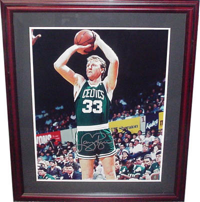 Larry Bird Autograph Sports Memorabilia from Sports Memorabilia On Main Street, sportsonmainstreet.com