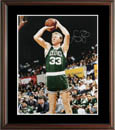 Larry Bird Autograph Sports Memorabilia, Click Image for more info!