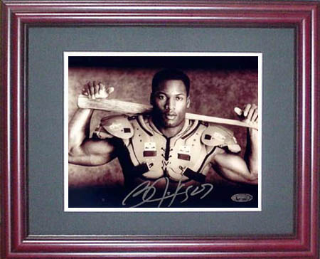 Bo Jackson Autograph Sports Memorabilia from Sports Memorabilia On Main Street, sportsonmainstreet.com