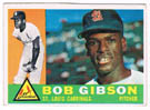 Bob Gibson Autograph Sports Memorabilia On Main Street, Click Image for More Info!