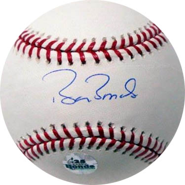 BarryBonds Autograph Sports Memorabilia from Sports Memorabilia On Main Street, sportsonmainstreet.com